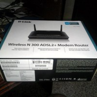 Unpacking - D-Link Wireless N300 ADSL2+ Modem Router DSL-2750U
